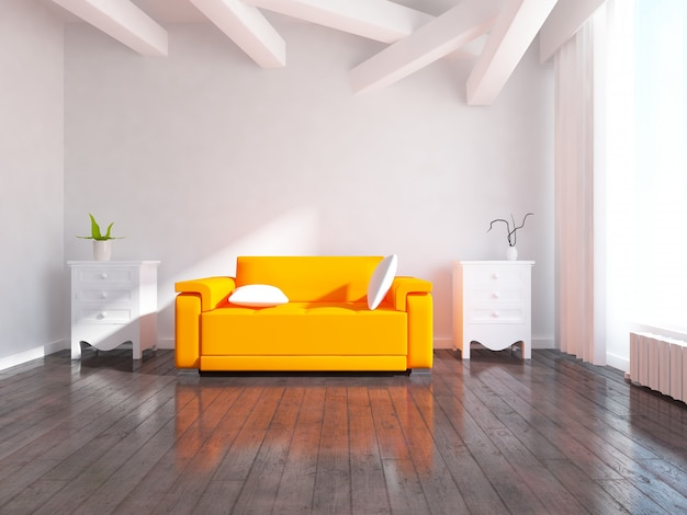 Interior design Premium Photo