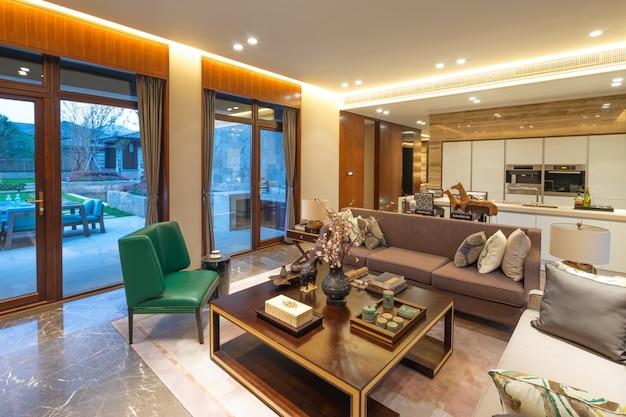 Interior of modern living room Premium Photo