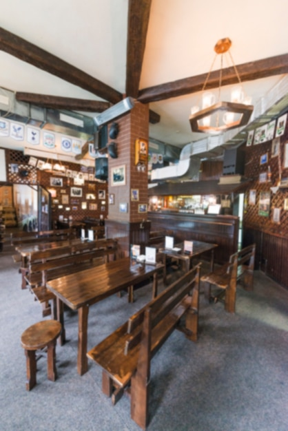 Interior of nice bar Free Photo