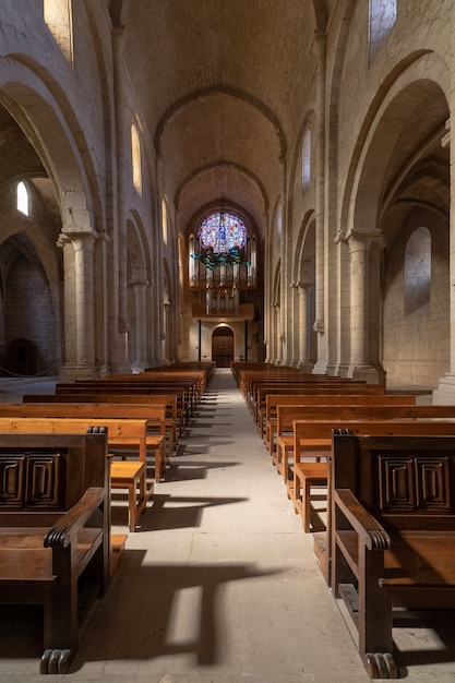 教会の内部 Premium写真