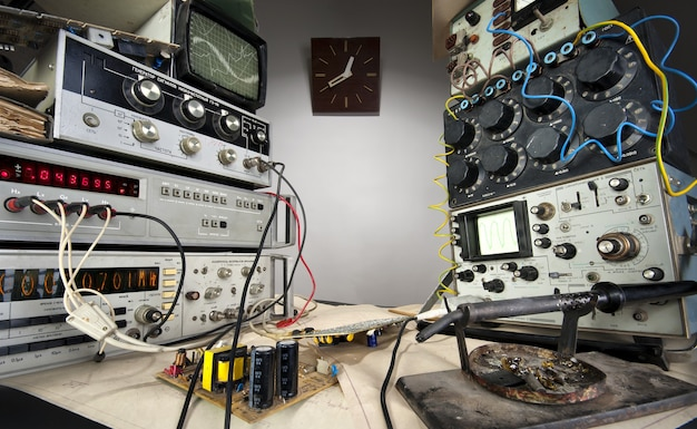 ヴィンテージ技術研究所のインテリア Premium写真