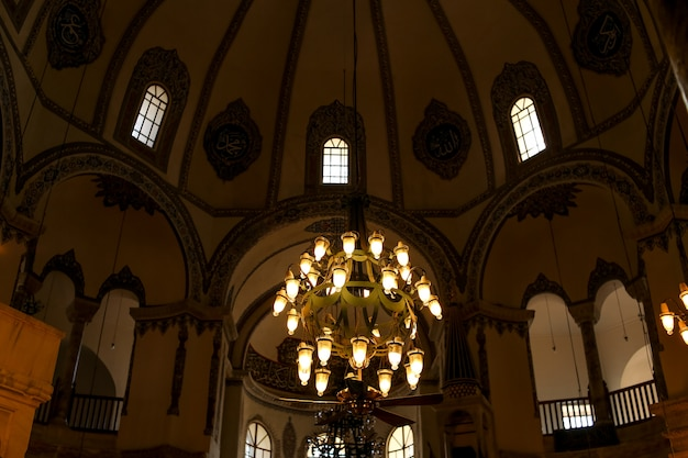 Interior of small hagia sophia . turkey. istanbul. Premium Photo