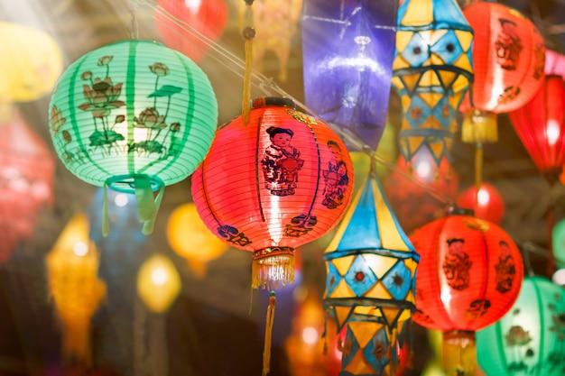 International asian lantern festival Premium Photo