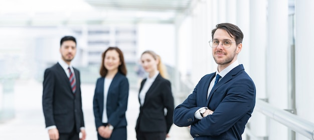 International business team Premium Photo