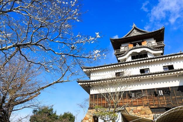 Inuyama castle in japan Premium Photo