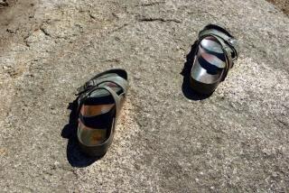 Iron Flip-Flops Free Photo