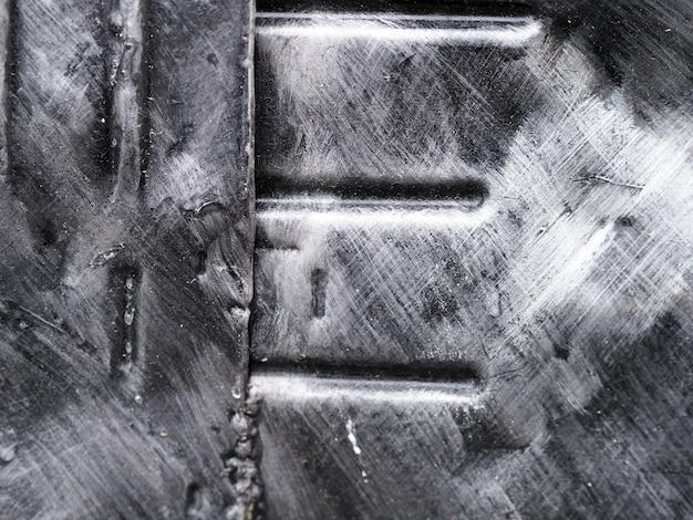 Iron plate abstract. Premium Photo