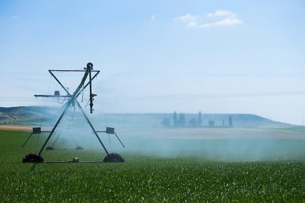 Irrigation system Premium Photo