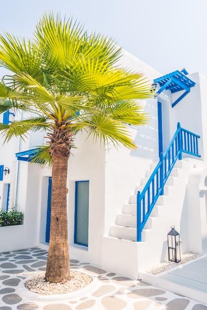 Island europe beautiful traditional greek Free Photo