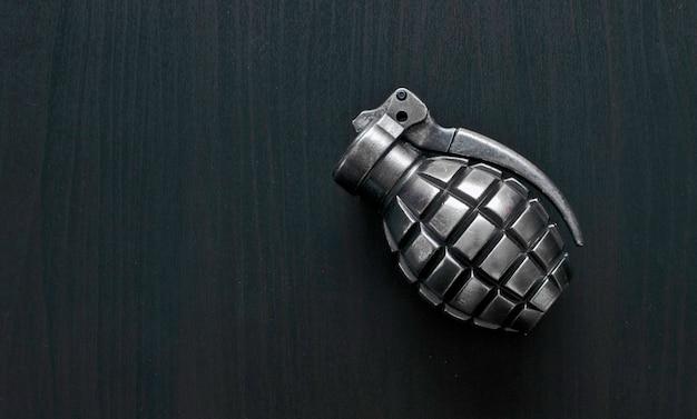 Isolated grenade Premium Photo