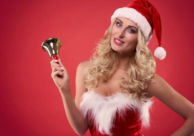 크리스마스 축하를위한 시간 무료 사진