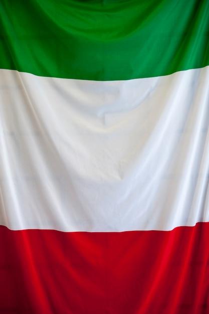 Italian flag Premium Photo
