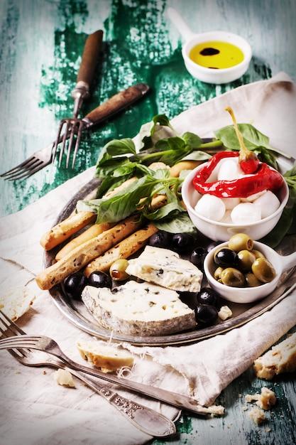 イタリアの食材 Premium写真