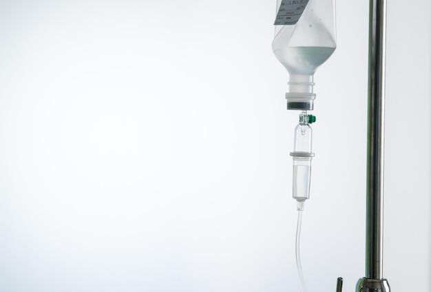 Iv feeding tube. Premium Photo
