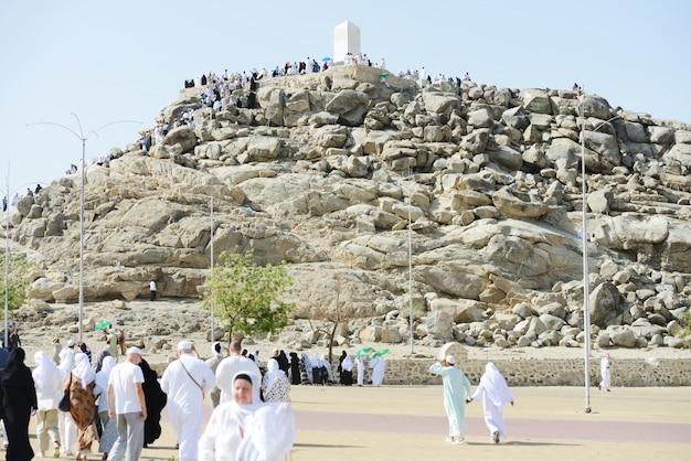 Jabal arafat Premium Photo