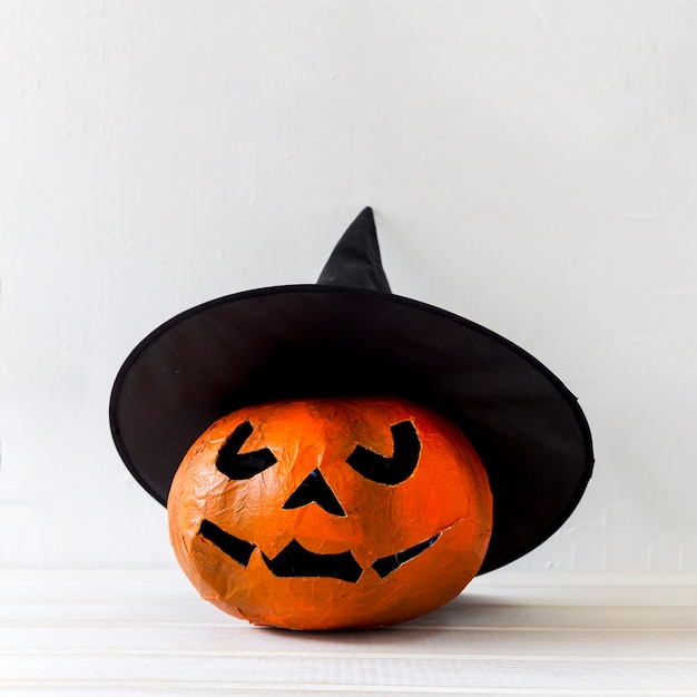 魔女の帽子のjack-o-lantern 無料写真