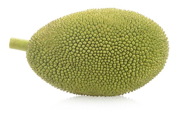 Jackfruit isolated on white background Premium Photo