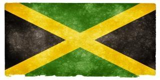 Jamaica grunge flag Free Photo
