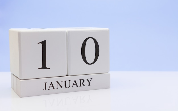 January 10st. day 10 of month Premium Photo