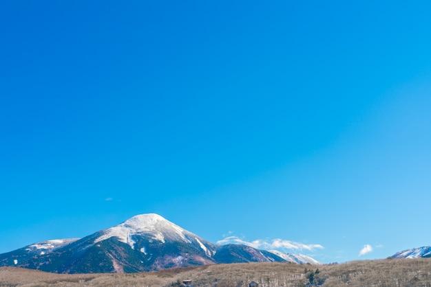 Japan winter mountain Free Photo
