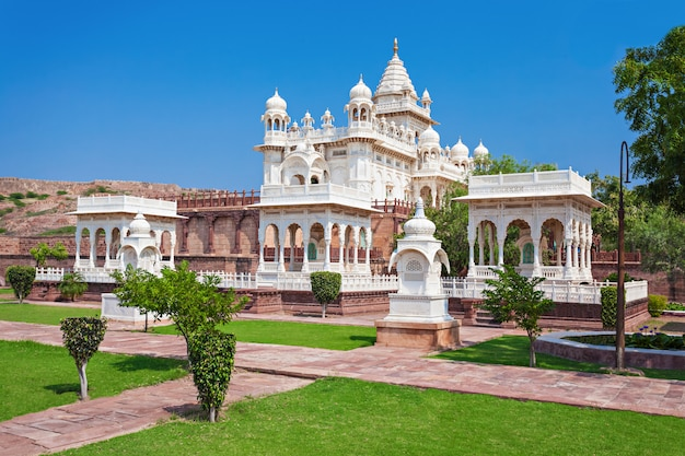 Jaswant thada mausoleum Premium Photo