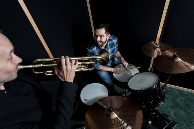 Jazz band performing Free Photo