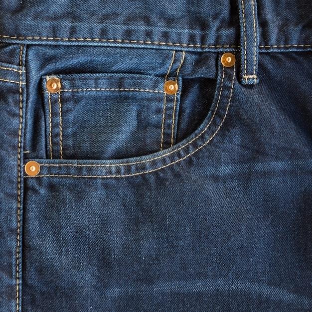 Jeans pocket Premium Photo