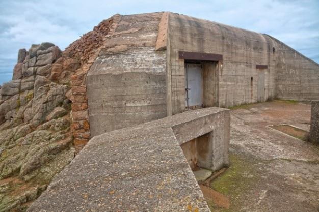Jersey war bunker   hdr Free Photo