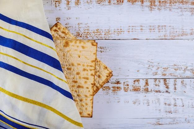 Jewish pesah celebration concept jewish holiday passover tallit Premium Photo