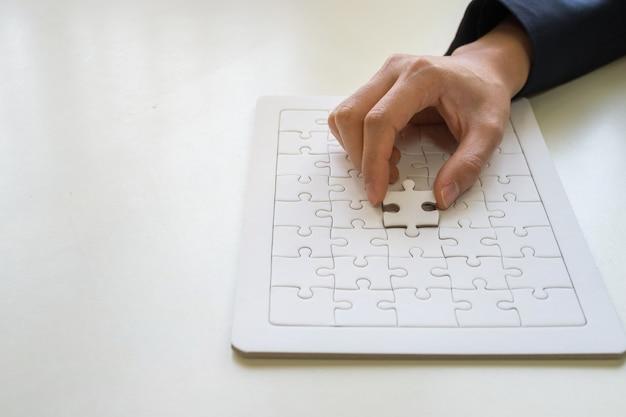 Jigsaw puzzle Premium Photo