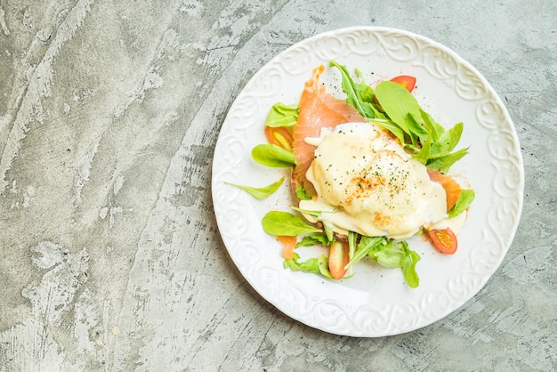Juice eggs toast smoked salmon Free Photo