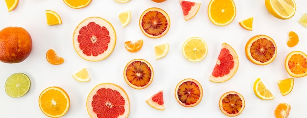 Juice and smoothie citrus ingredients Free Photo