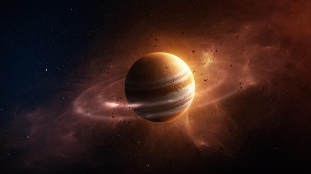 Планета юпитер Premium Фотографии