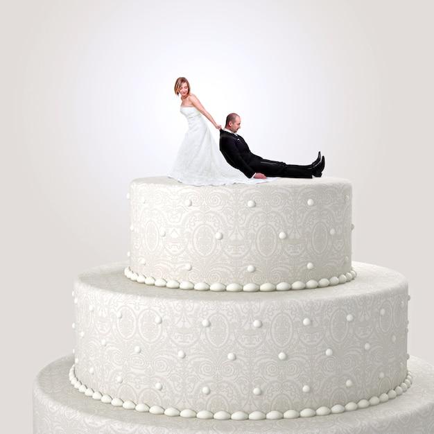 Just married Premium Photo