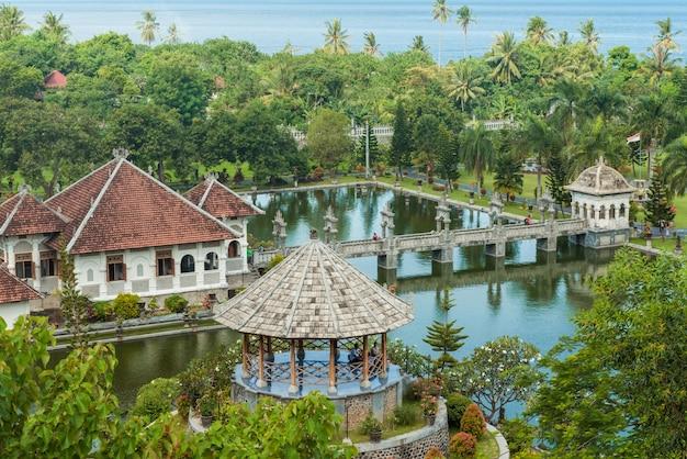 Karangasem water temple palace in bali Free Photo