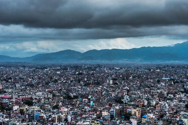 Katmandu city Premium Photo