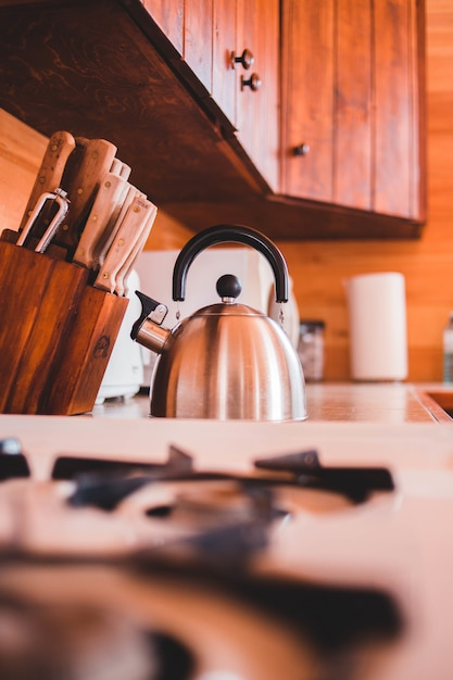 Kette with kitchen tools Free Photo