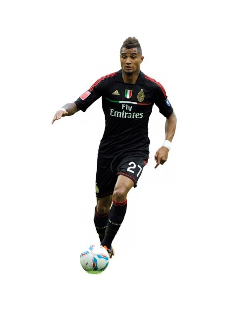 Kevin-Prince Boateng , Ac milan Serie a