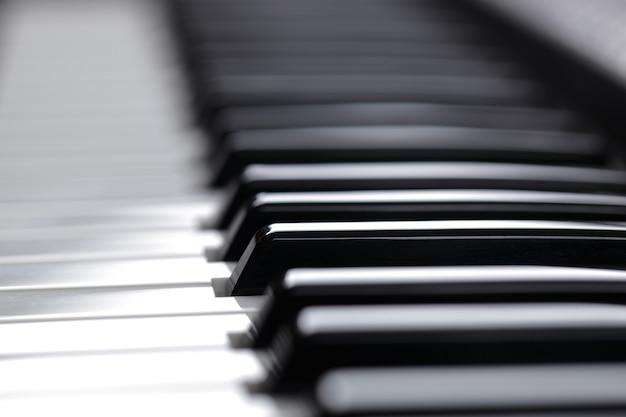 Клавиатура для фортепиано Premium Фотографии