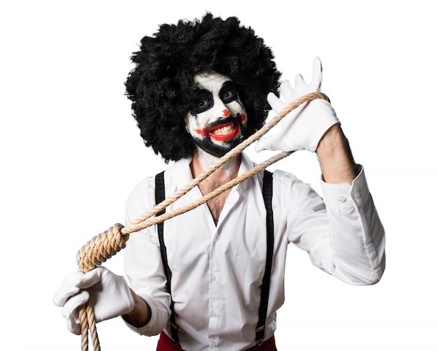 Killer clown  with slipknot Free Photo