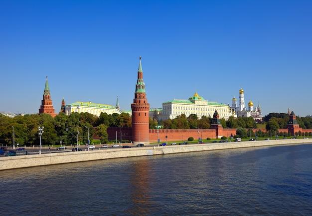 Вид в московский кремль Бесплатные Фотографии