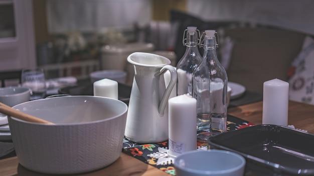 Kitchen utensil set Premium Photo
