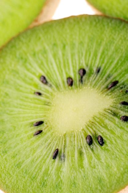 Kiwi slices close up Free Photo