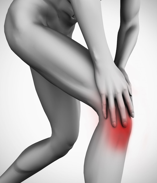 Knee pain Premium Photo