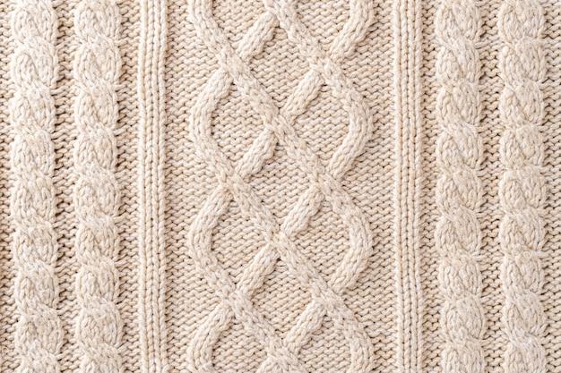 Knit fabric texture Premium Photo