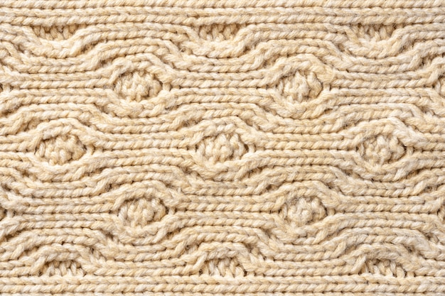 Knit fabric texture Premium Photo