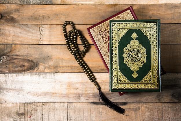 Koran , holy book of muslims Premium Photo