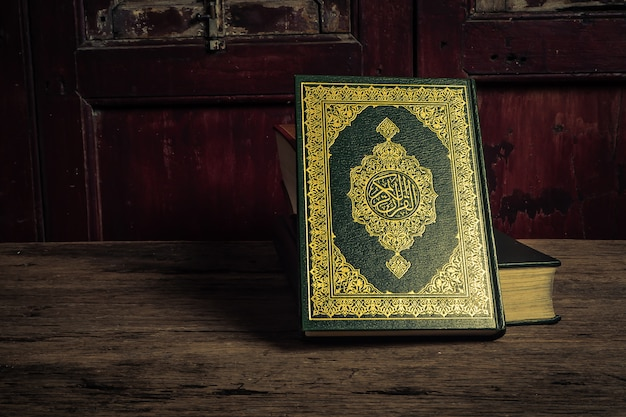 Koran - holy book of muslims Premium Photo