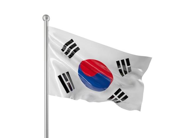 Korea flag Premium Photo