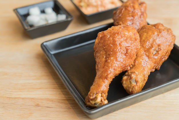 한국식 프라이드 치킨 무료 사진
